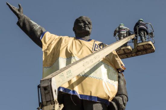В Запорожье пытаются снести самый крупный встране памятник Ленину
