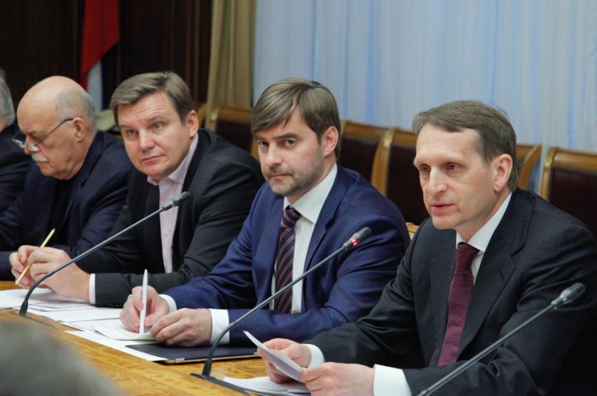 Сергей Нарышкин: Празднование юбилея Федерального Собрания будет способствовать укреплению авторитета исполнительной власти и парламентских традиций