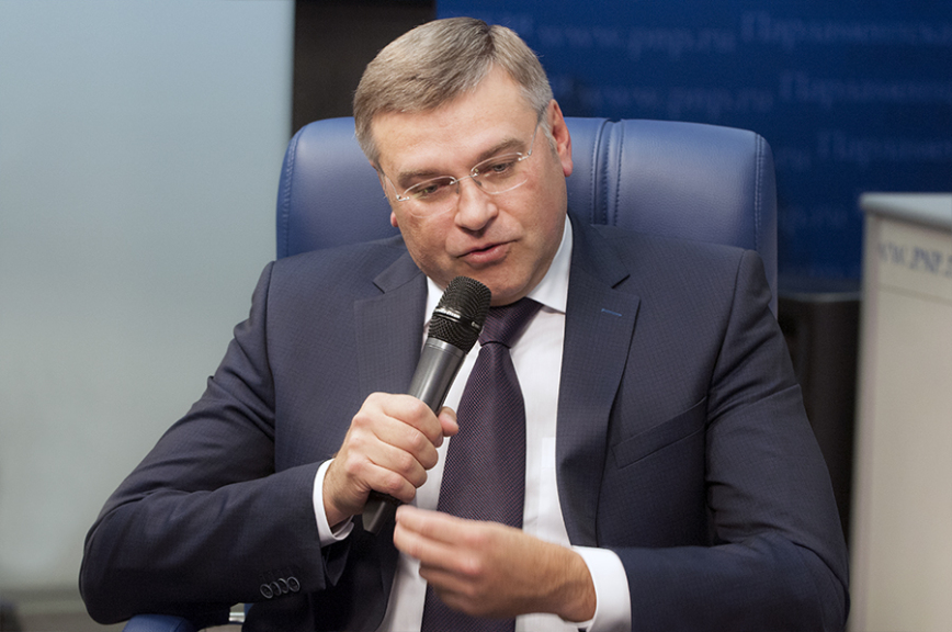 Видеоинтервью смэром Норильска Олегом Куриловым