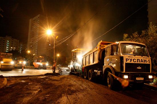 В Москве начинается сезонная замена асфальта