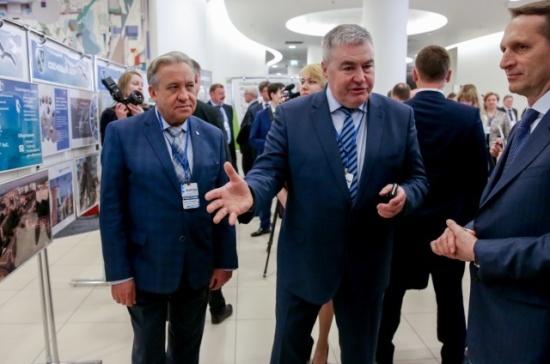 Сергей Нарышкин: Пусть муниципалы взбадривают вышестоящих чиновников
