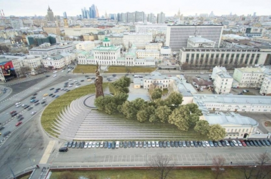 Проект памятника князю Владимиру согласован с ЮНЕСКО