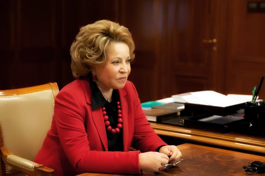 Валентина Матвиенко: Москва заинтересована вразвитии отношений сИсламабадом намеждународной арене