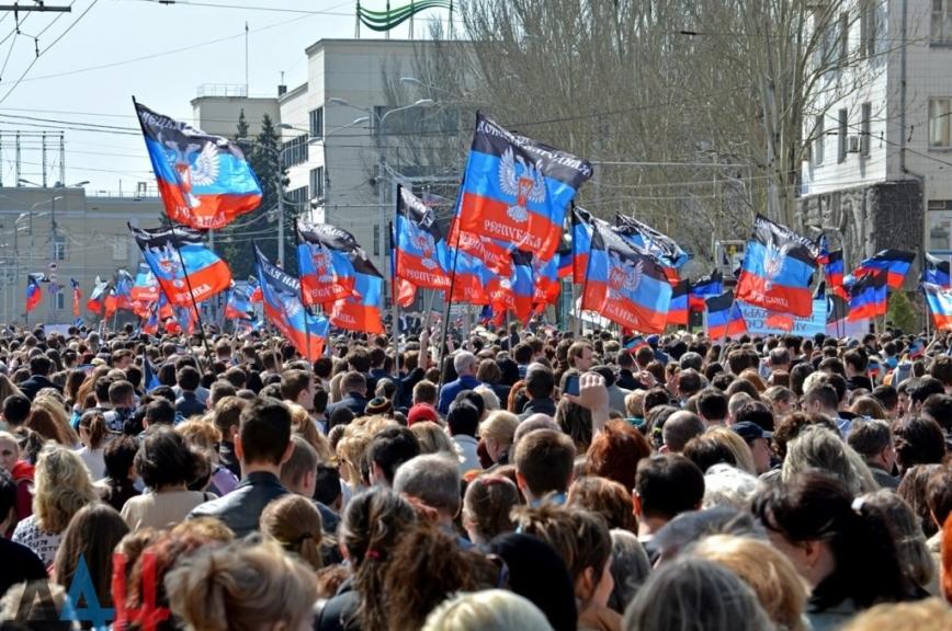 Всё громче глас: отдать Донбасс!