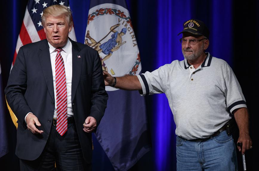 Трамп: чужой средичужих. И своих тоже