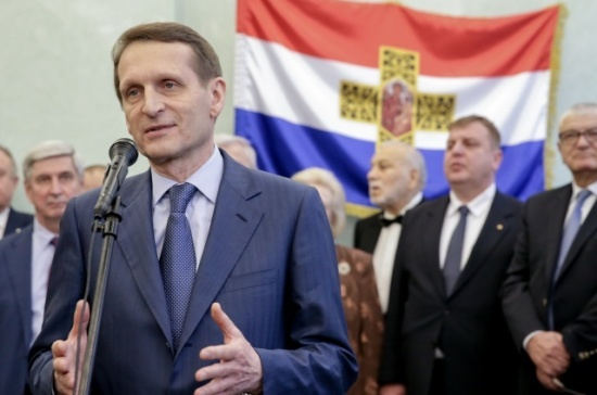 Братство России и Болгарии подтверждено наполях сражений — Нарышкин