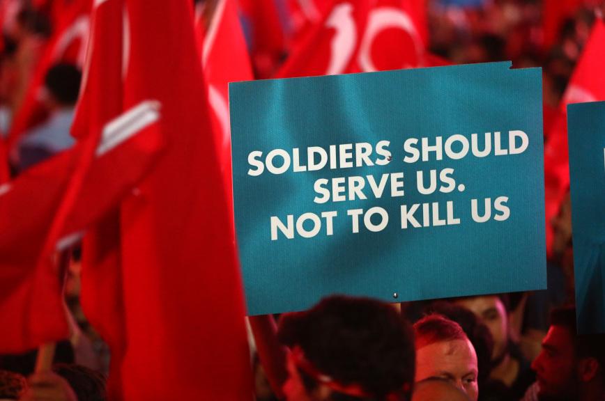 ЧП в Турции: защита прав черезих ограничение