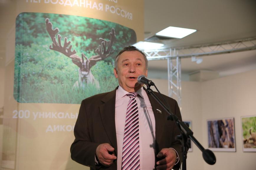 Сенатор Олег Пантелеев представил выставку «Первозданная Россия» в Челябинске