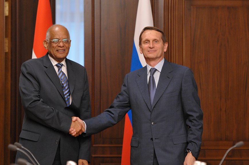 Сергей Нарышкин назвал Египет самым надежным партнером РФ вСеверной Африке