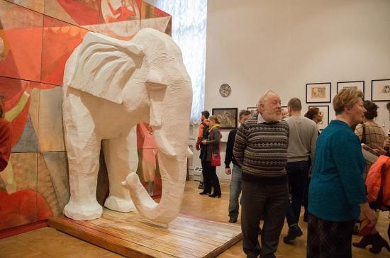 В Русском музее устроили цирк