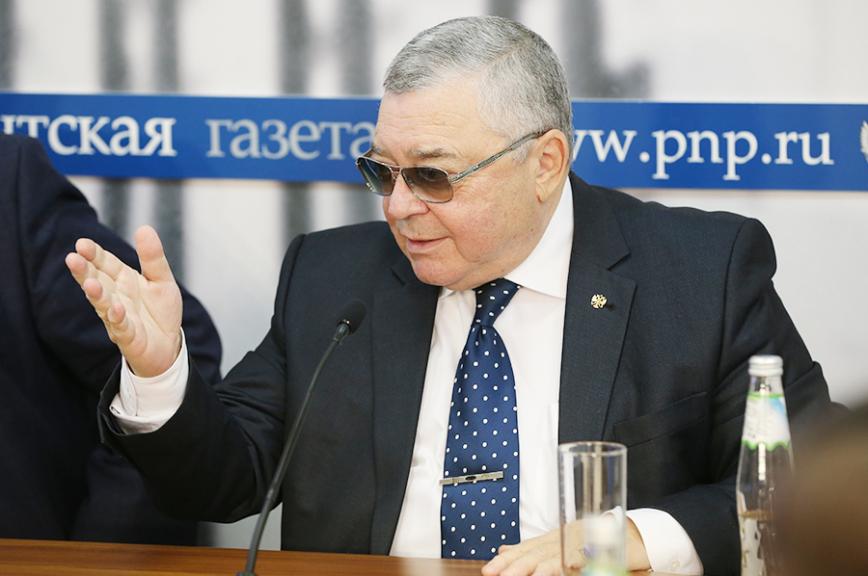 Брифинг председателя Общественной палаты Республики Крым Григория Иоффе