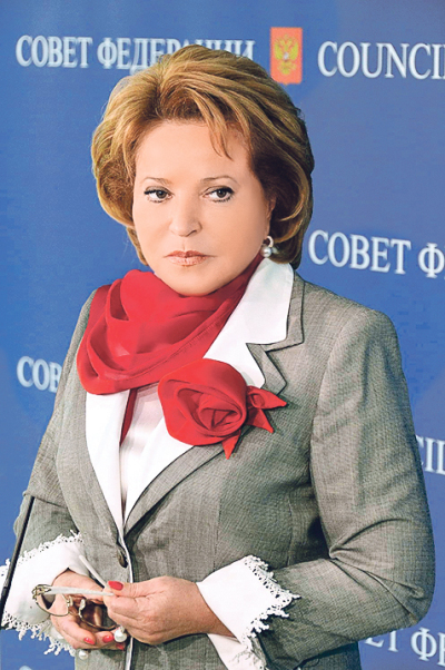 Валентина Матвиенко: «Большинство чиновников— порядочные люди»