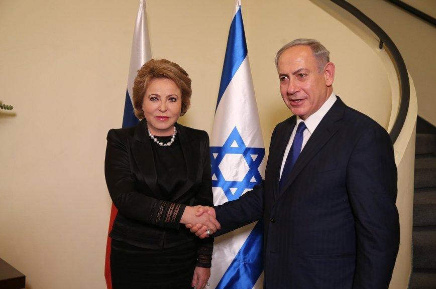Валентина Матвиенко встретилась спремьером Израиля