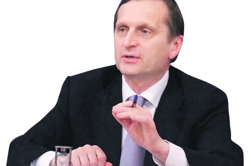 Председатель Госдумы Сергей Нарышкин оедином учебнике истории