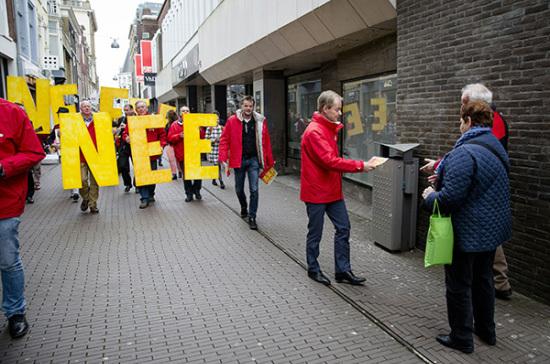 Руководители Украины и оппозиция отреагировали наитоги референдума в Голландии