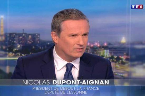 В президенты Франции баллотируется пророссийский кандидат