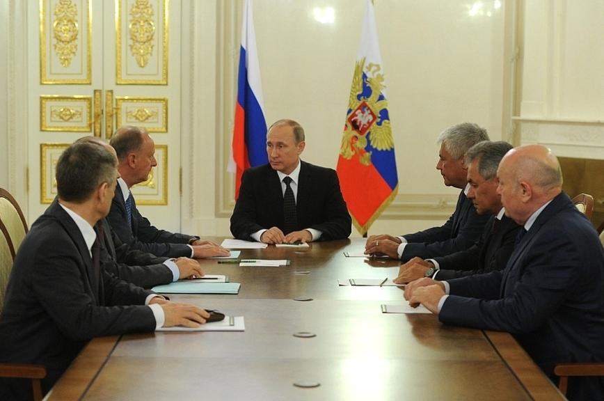 Путин обсудил счленами Совбеза гуманитарную ситуацию в Сирии