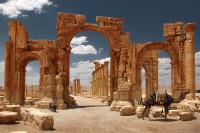 Знаменитой Триумфальной арки Пальмиры больше нет