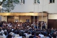 Оппозиция вАбхазии разгорячилась «коктейлями Молотова»