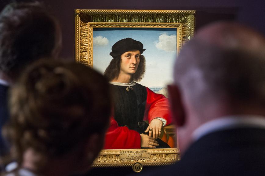 Свыше 50 тыс. гостей приняла выставка Рафаэля Санти вПушкинском музее