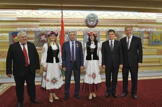 Вице-спикер Госдумы Иван Мельников награждён орденом Почёта Республики Беларусь
