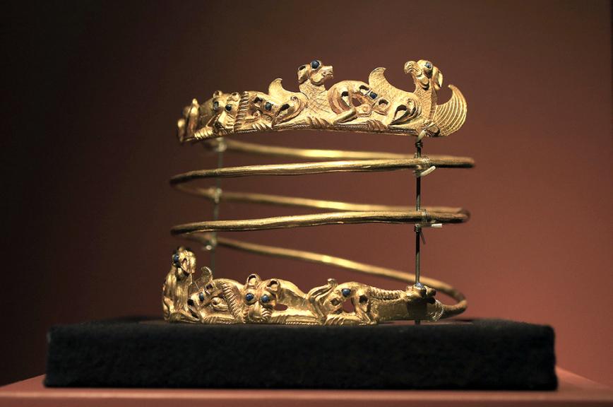 Украина неполучила коллекцию скифского золота 06октября 2016 09:55