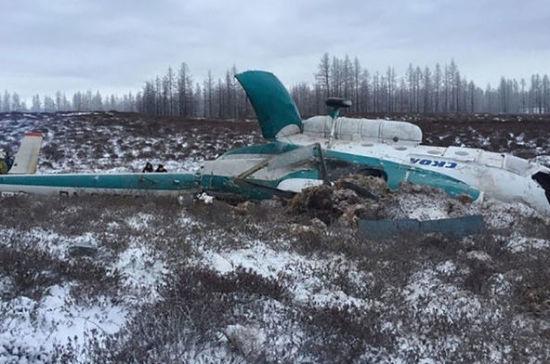Палаточный лагерь для следователей организуют наместе падения Ми-8 вЯНАО