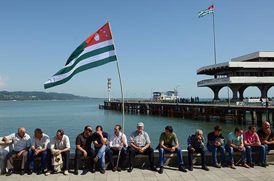 Абхазия на крымских ладонях