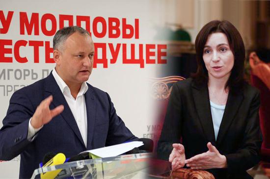 Выбрать президента с первого раза в Молдавии не смогли