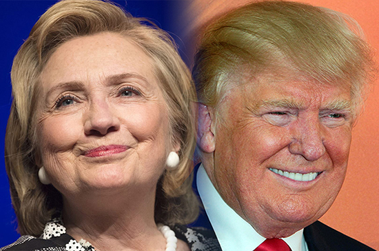 Хиллари иБилл Клинтон проголосовали вНью-Йорке