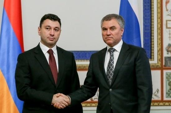 Вячеслав Володин вполне может стать новым председателемПА ОДКБ
