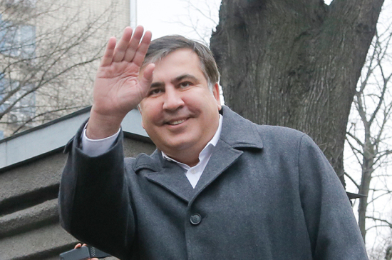 Саакашвили уже знает одно украинское слово