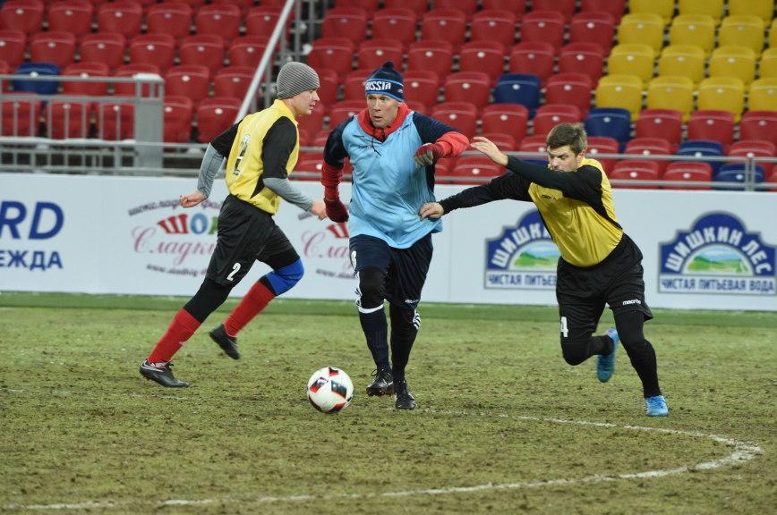 Сборная российских парламентариев по футболу разгромила сборную мира 4:1