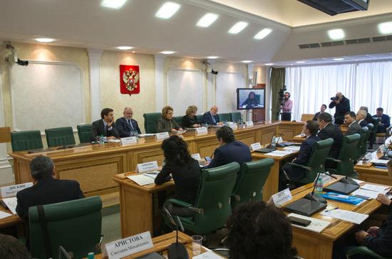 В.Матвиенко предложила перечислять изъятые укоррупционеров деньги благотворительным организациям