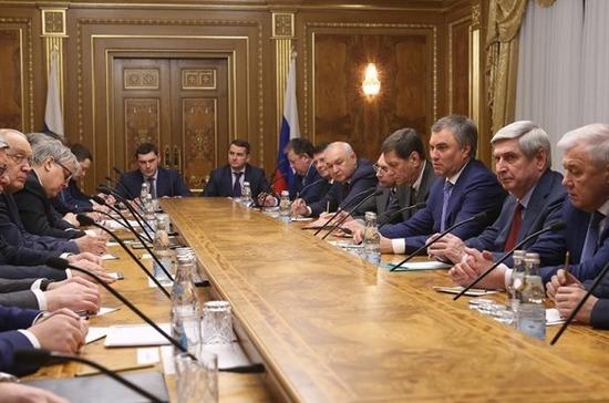 Госдума привлечёт к работе над законопроектами ведущие вузы России