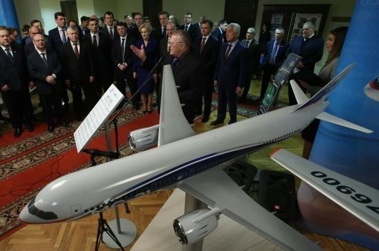 Авиастроительная корпорация представила свои достижения в Госдуме