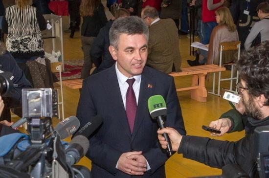 Выборы президента Приднестровья можно считать состоявшимися
