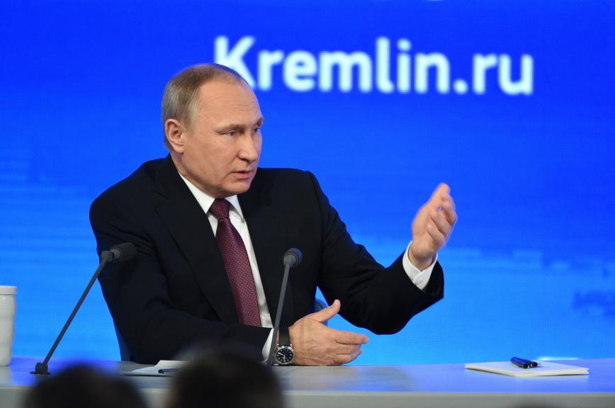 Владимир Путин призвал очистить спорт и культуру от политики