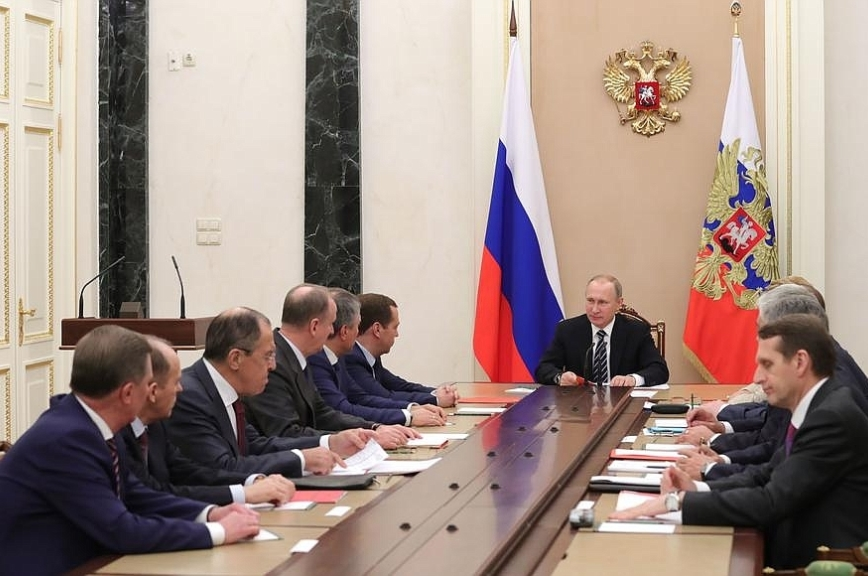 Владимир Путин обсудил сирийский конфликт счленами Совета безопасности