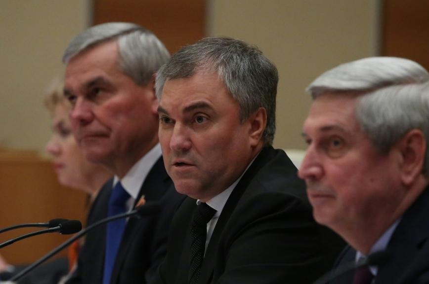 Вячеслав Володин возглавил Парламентское собрание Союза Белоруссии и России