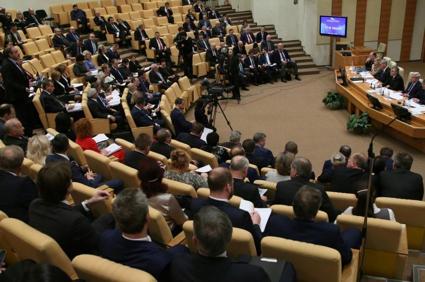 В Госдуме завершилась 51-я сессия парламентского собрания Союзного государства