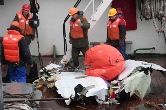 Взрыва на борту Ту-154 не было