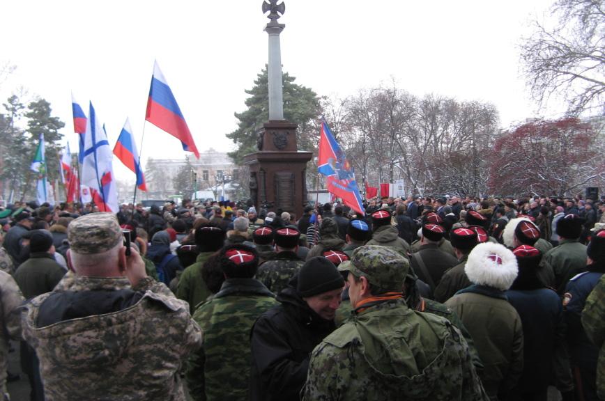 ВКрыму увековечили память народного ополчения