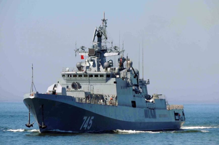 Фрегат «Адмирал Макаров» испытают сразу после праздников