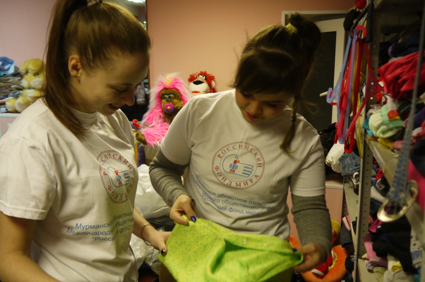 За год центр Фонда мира и Красного Креста в Мурманске принял 825 нуждающихся