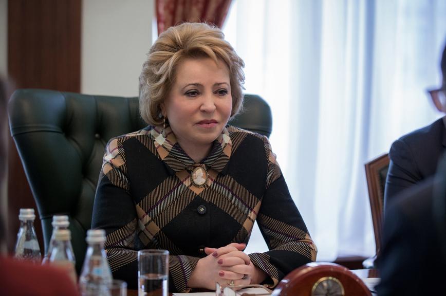 Валентина Матвиенко назвала решение ЕСПЧ по «закону Димы Яковлева» далёким от международного права