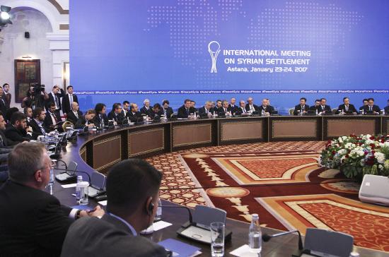 Кремль оценил переговоры в Астане