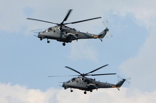 Первые российские вертолеты Ми-35М поступили в ВВС Казахстана