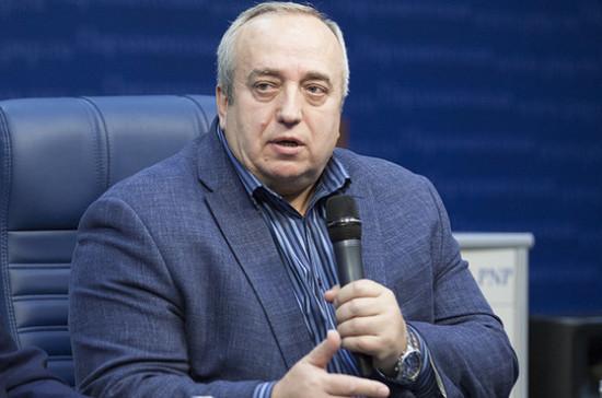 Клинцевич считает заявление литовского депутата о статусе Калининграда безответственным