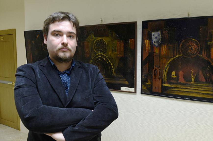 Экспозиция картин по мотивам творчества Пушкина и Карамзина открылась в Совете Федерации